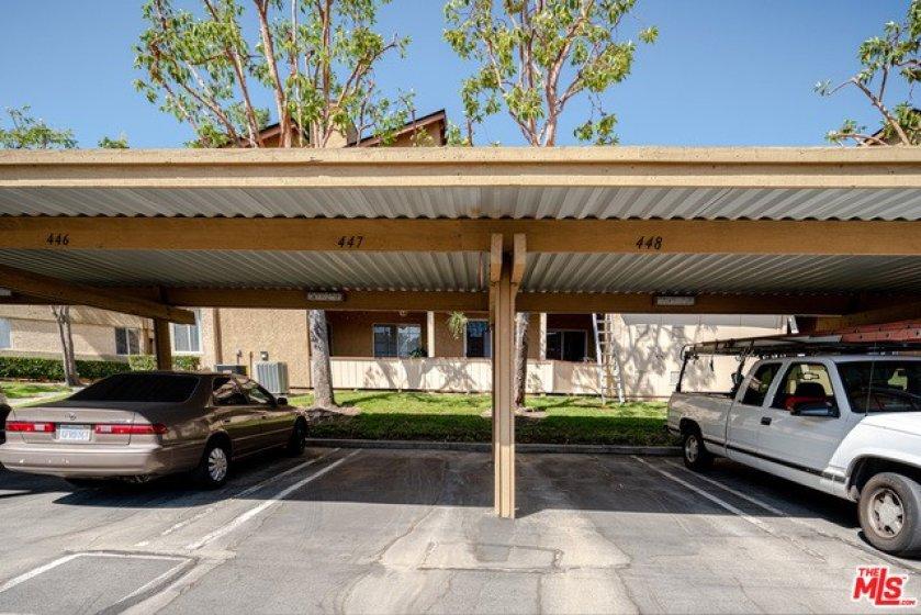 Designated parking 447, 448