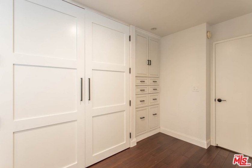 Spacious Bedroom with Built-in Cabinets