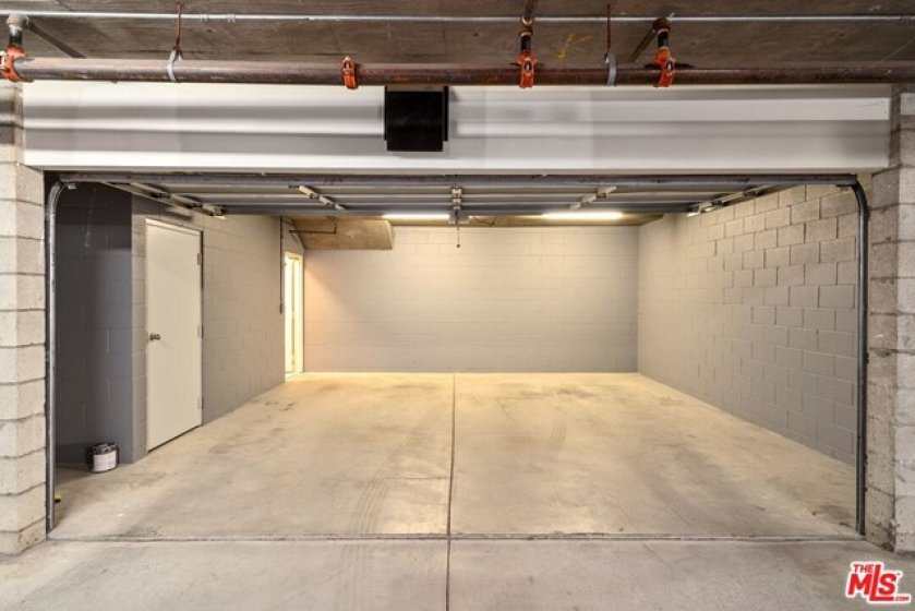 Private Two Car Garage