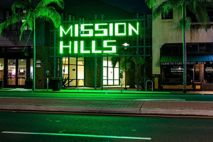 A Short Walk to the Center of Mission Hills