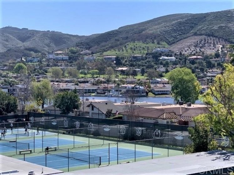 from Condo of Lake, Tennis Court, Lights and Hills