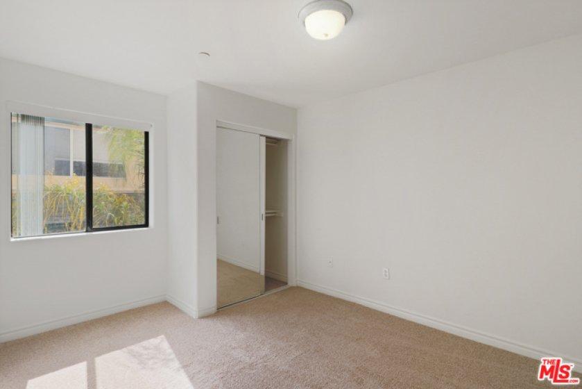 Bright airy bedroom