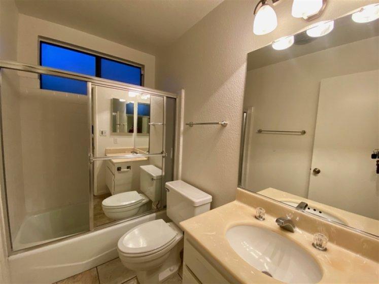 Second bathroom upstairs.