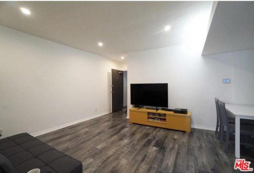 main area, living room