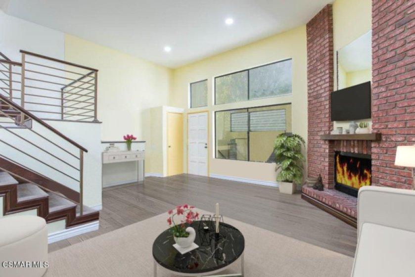 9671-Shermand Way Pic #2 - Living room f