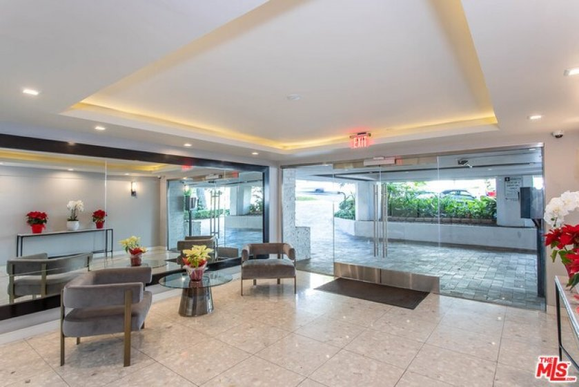 Recently Renovated Lobby