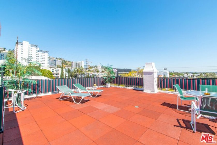 Roof Top Deck with Panoramic Views