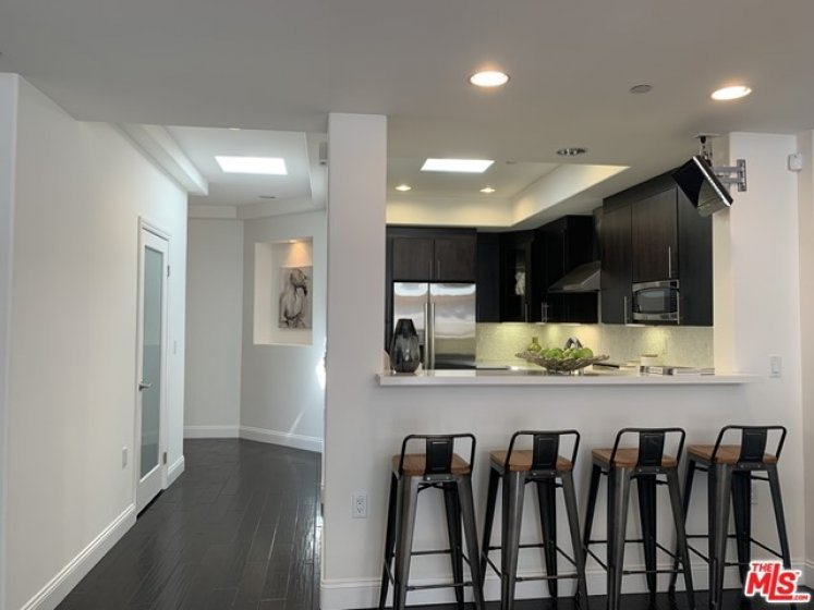 Skylights in Entry and Kitchen