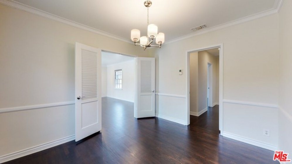 Smoo ceilings and crown molding roughout.
