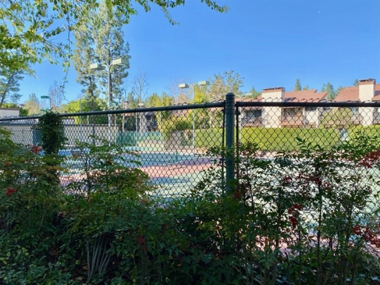 Like to play tennis or wish you could learn? No excuses now!  Well maintained tennis court open year round.