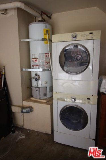 Laundry in garage. Washer/Dryer included
