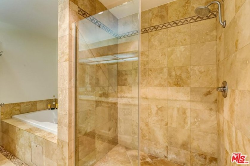 Extra Large Shower and Spa Tub