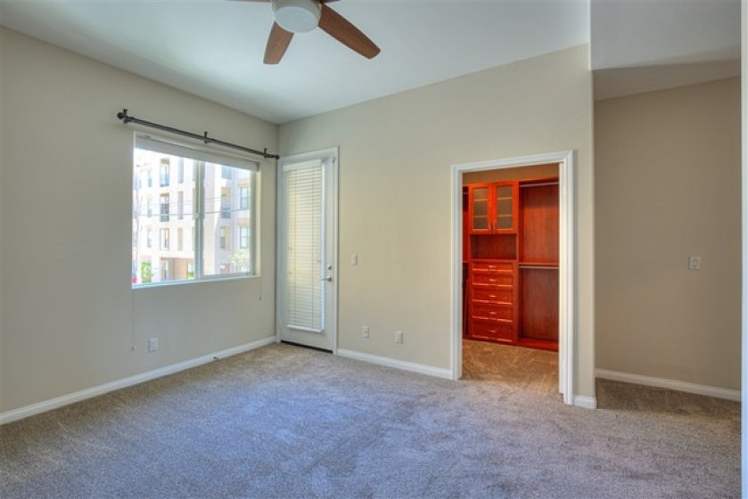 Master Bedroom with Door to the Balcony on the Left