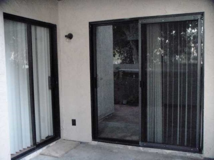 Sliding Doors from 2 Bedrooms lead to garden patio