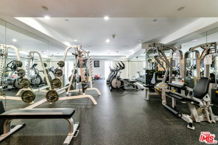 Complete Gym on First Floor