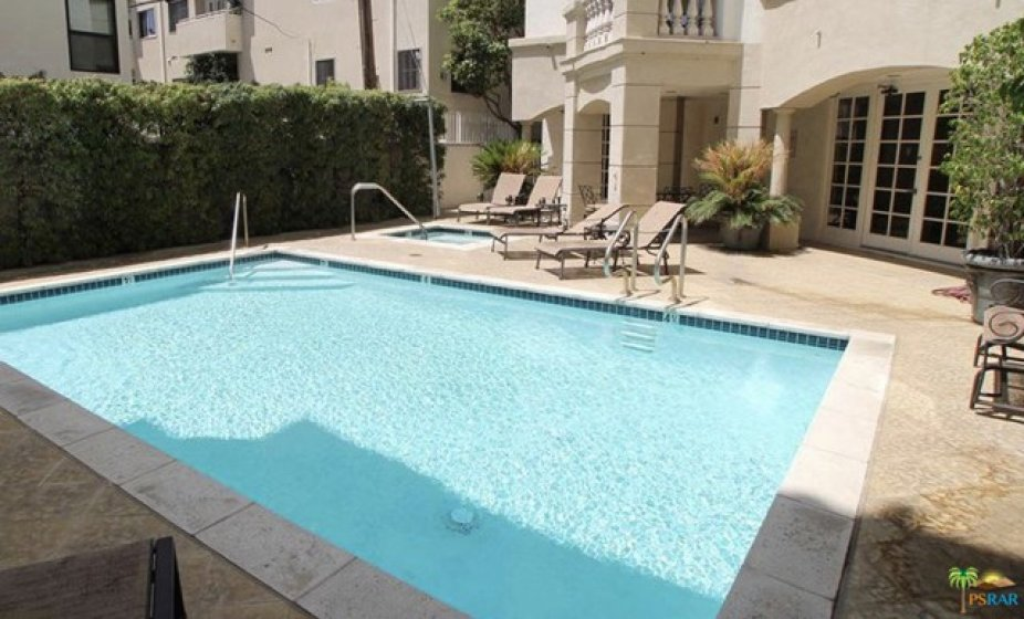 Pool with Sundeck and Spa