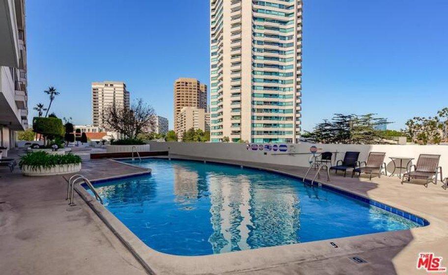 Resort-Like Pool and Sun Deck