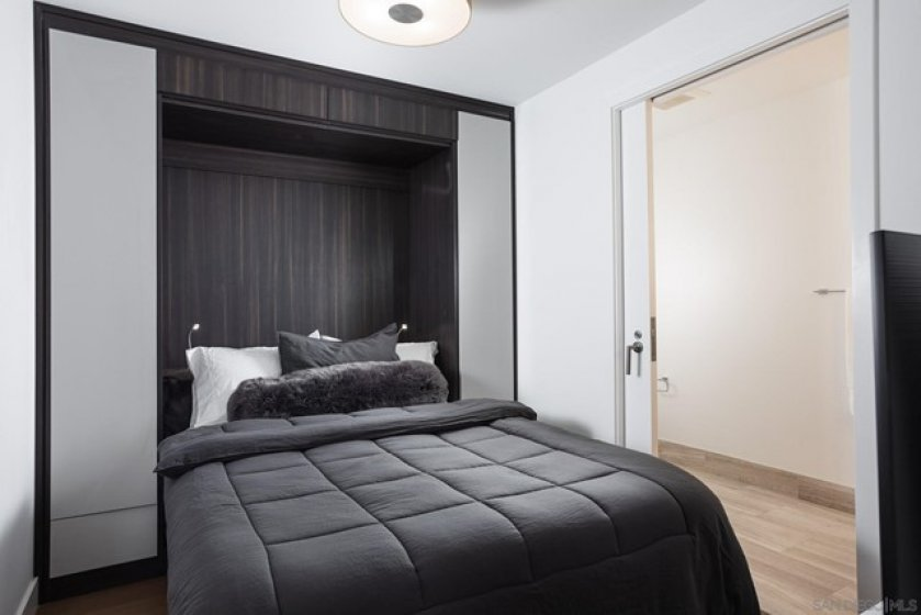Custom Built-ins with Murphy Bed