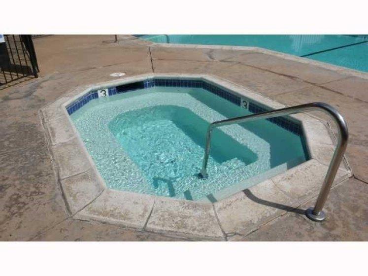 Community hot tub