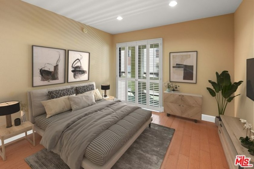 Bedroom  - Virtually Staged