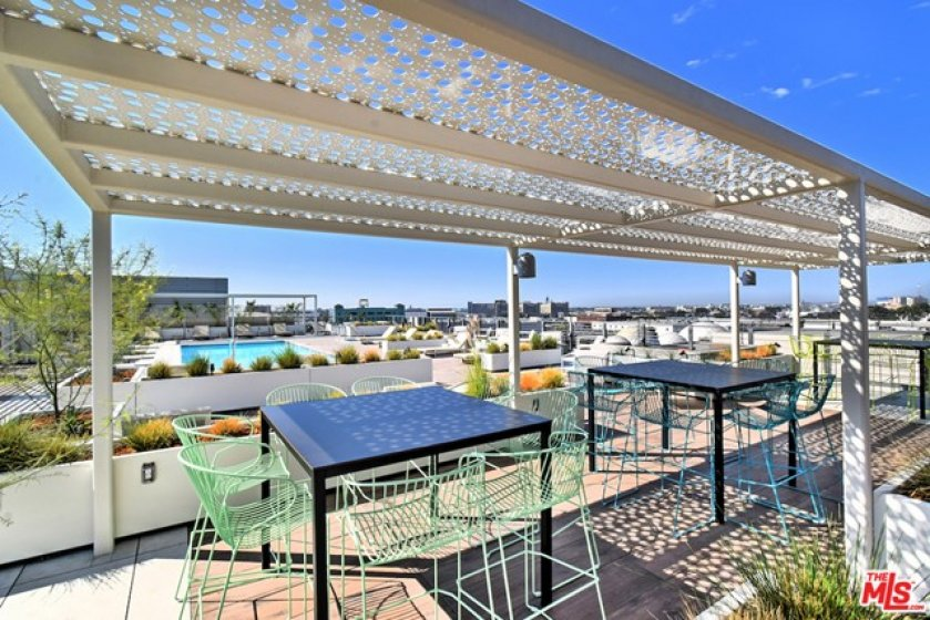 Work or eat under new shade structures