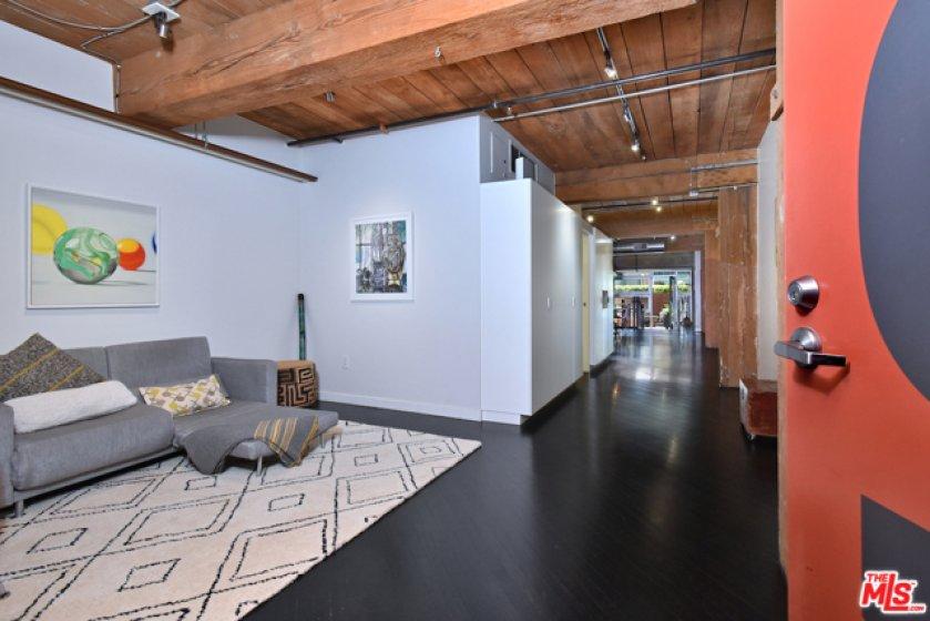 Enter into a flexible live/work space...