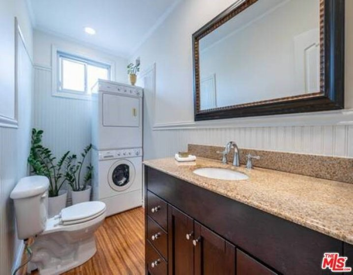 1/2 Second Bathroom + Washer /Dryer in Unit