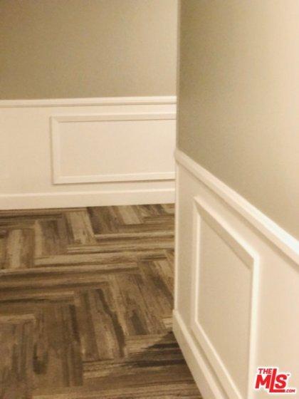 Redecorated hallways