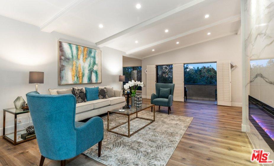 Living Room Twilight
