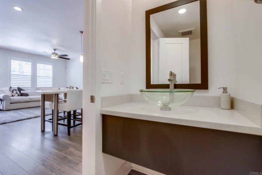First Floor 1/4 Bath