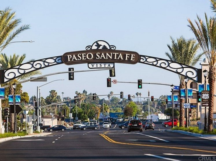 Vista has shops, movies, theaters, restaurants, breweries, pubs, bars, coffee shops, parks, etc !