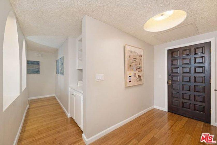 Entry Door and Hallway
