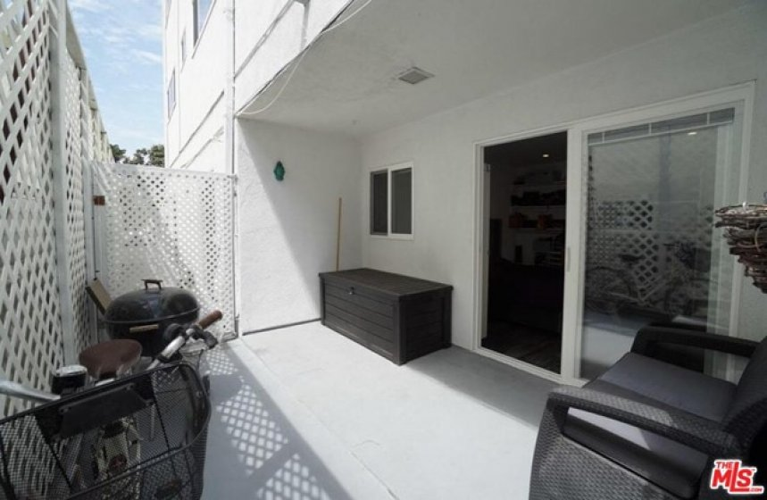 walk to your large patio from e bedrooms