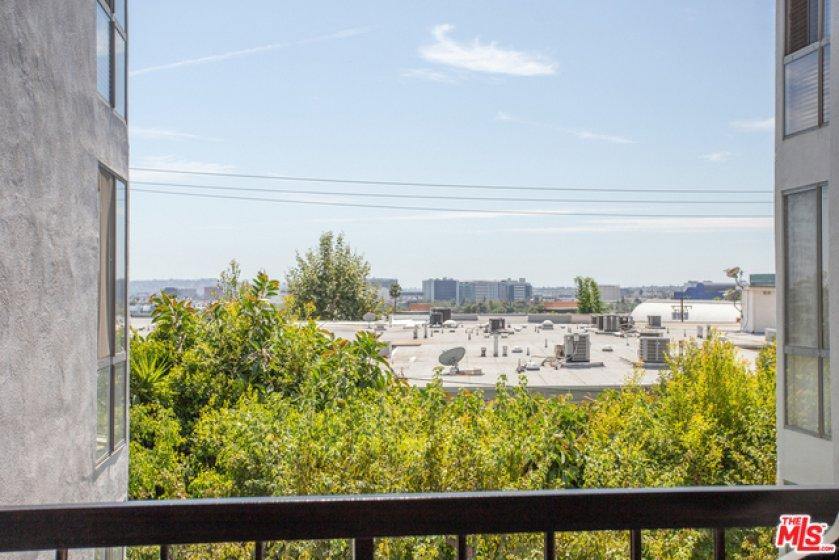 City Views from Balcony