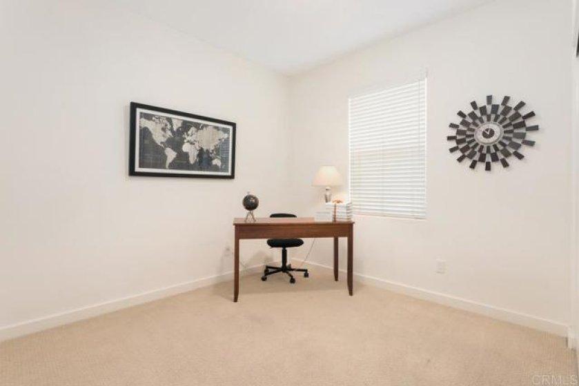 Main floor bedroom or office