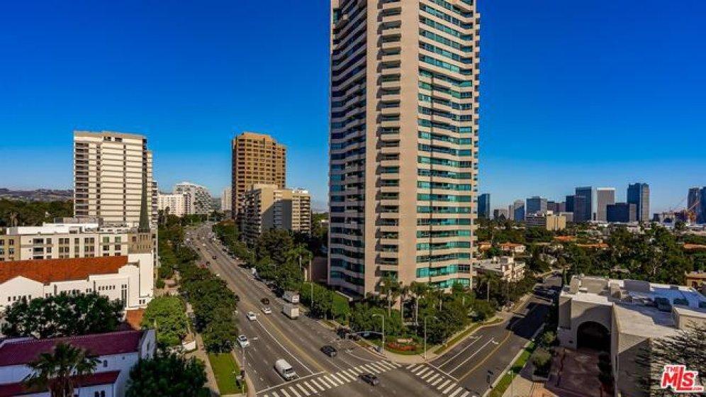 Looking Toward Beverly Hills