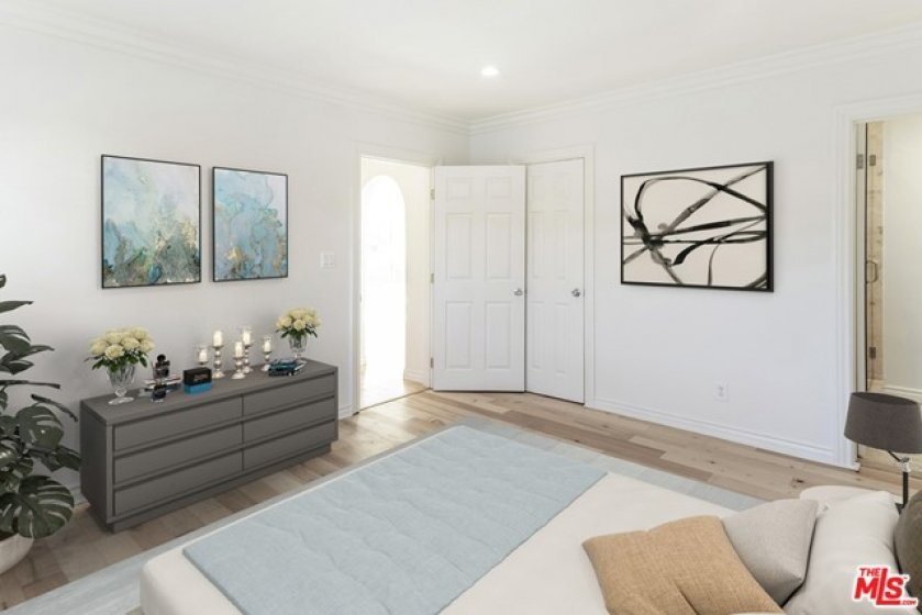 Main Bedroom-Virtually Staged