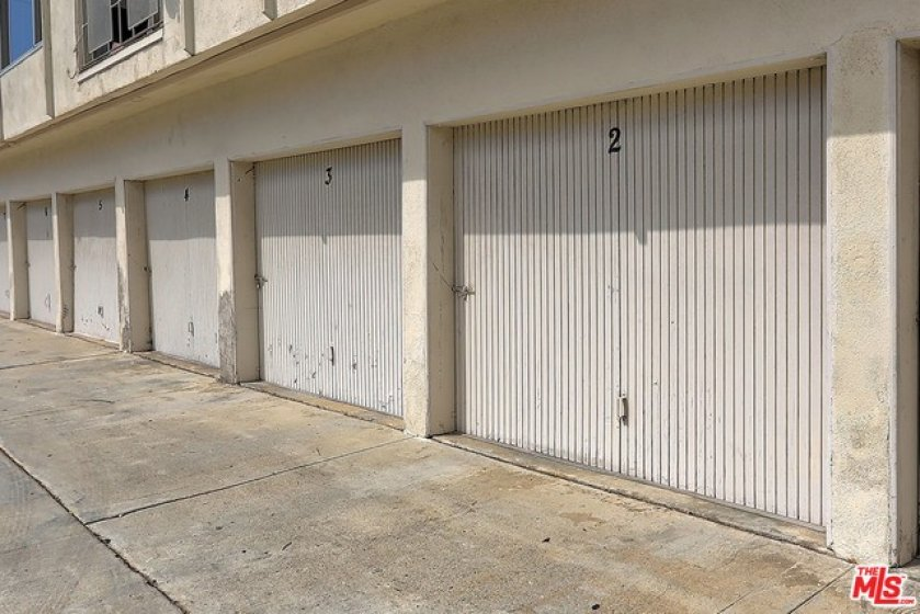 Deeded/aigned garage space.