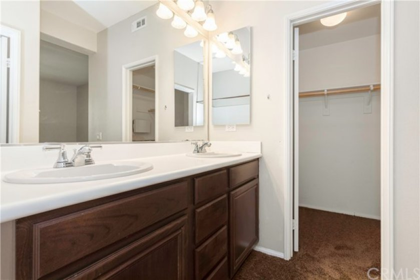 Lower level primary en suite bath