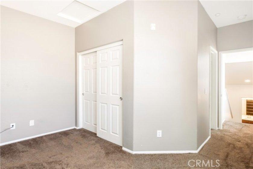 Third floor bedroom with ensuite bath
