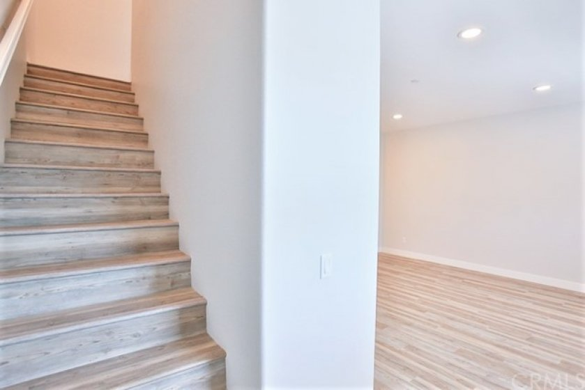 STAIRS FROM MAIN LEVEL TO LEVEL 3