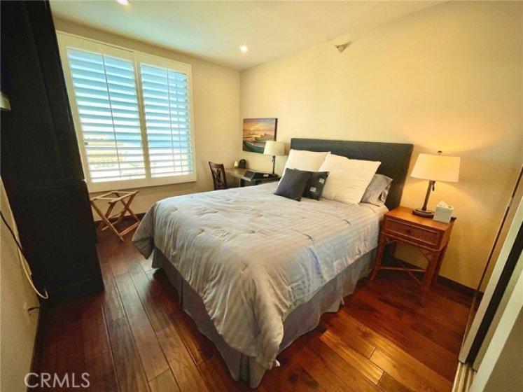 2nd bedroom with ocean view