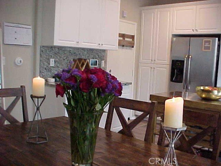Garage Access in Kitchen Corner