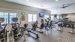 Clubhouse gym.