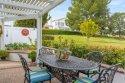 Backyard faces a tranquil green belt