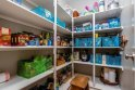 Walk-in Pantry with built in shelving! Enough space to store food for the next 10 years! ready to store food for the next 10 years!