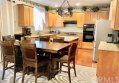 Kitchen and breakfast table Open floor plan to family room
