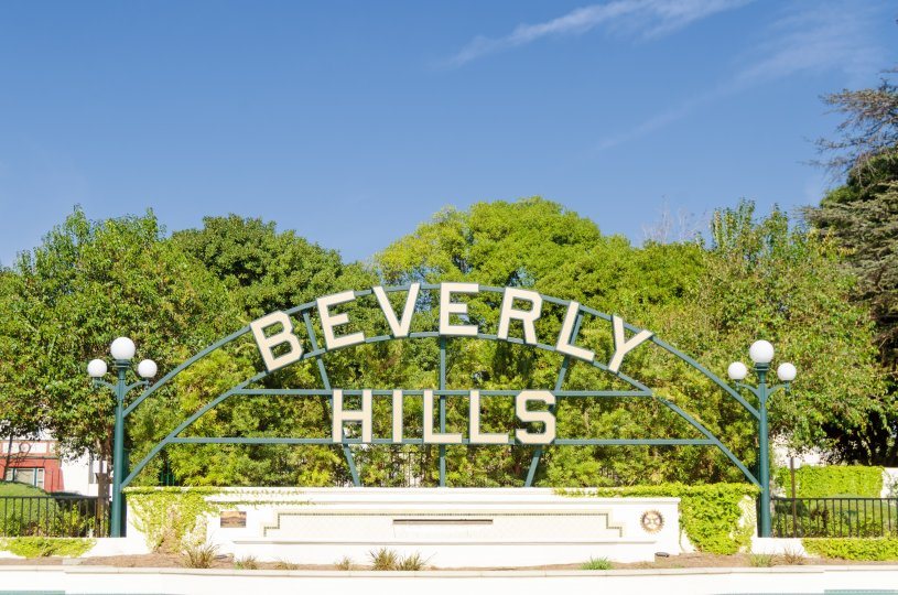 Beverly Hills Flats Community Marquee