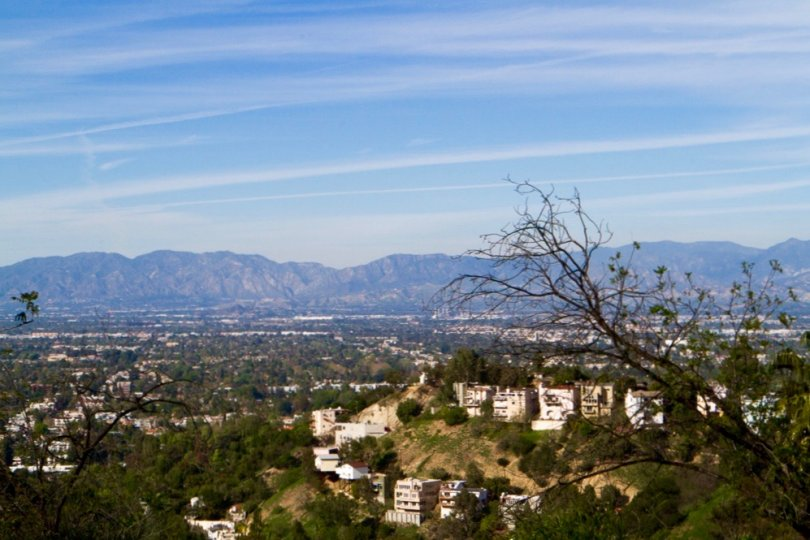 A view of the San Fernando Valley from The Summit neighborhood