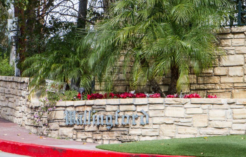 Wallingford Estates Community Marquee in Beverly Hills Ca